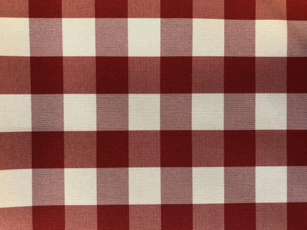 Zdjęcie przedstawia art. MM43Y, tkanina poliestrowa (100% poliester, gramatura 160 g/m2, szerokość 150 cm) w kolorze czerwonym (nr. 3661), we wzorze 206, ukazanie wzoru tkaniny.